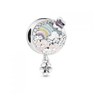 Charm Colgante Pandora Historia Flores Coloridas 797999ENMX