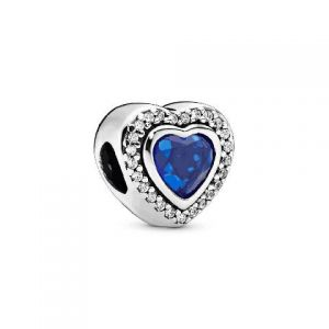 Charm Pandora Amor Brillante Azul 797608NANB