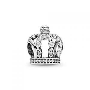 Charm Pandora Corona de Cuentos de Hada 792058CZ