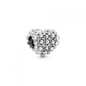 Charm Pandora Esferas de Corazón Brillantes 798681C01