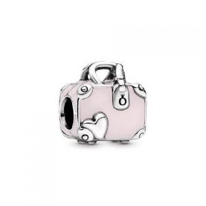Charm Pandora Maleta Rosa 798063EN124