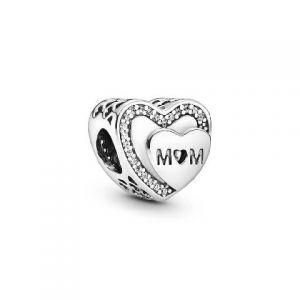 Charm Pandora Corazón de Mamá 792070CZ