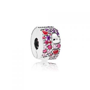 Clip Pandora Amor Asimétrico 797838CZRMX
