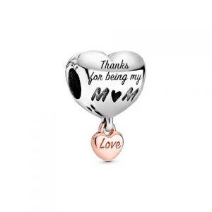Charm Pandora Corazón Mamá 788830C00
