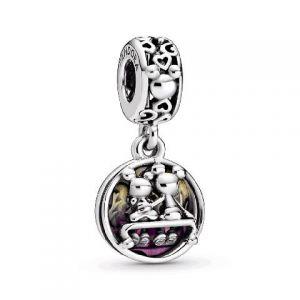 Charm Colg. Pandora Disney Mickey & Minnie Mouse 798866C01