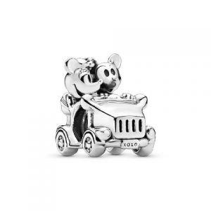 Charm Pandora Disney Coche Vintage Minnie y Mickey 797174