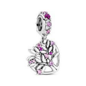 Charm Colg. Pandora Corazón Árbol de la Vida Rosa 799153C01