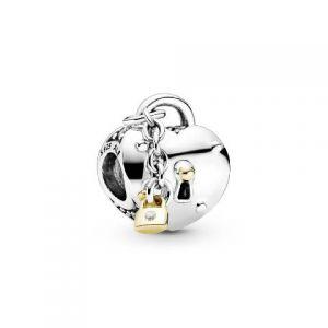 Charm Pandora Corazón y Candado 799160C01