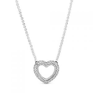 Collar Pandora Corazón Abierto 399110C01 (C)