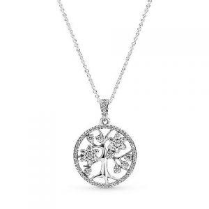 Collar Pandora Arbol Familiar 390384CZ (C)