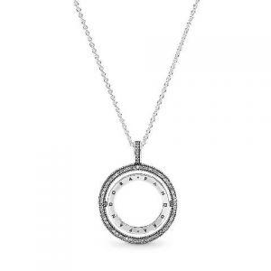 Collar Pandora Corazones Girando 397410CZ (C)
