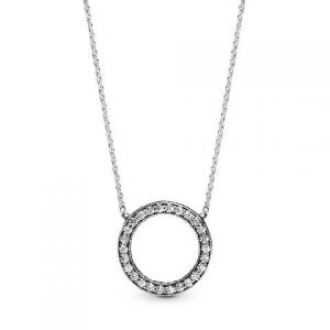 Collar Pandora Corazones 590514CZ (C)