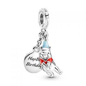 Charm Colgante Pandora Disney Cumpleaños Winnie 799385C01