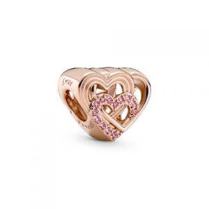Charm Pandora Corazones de Amor Entrelazados 789529C01